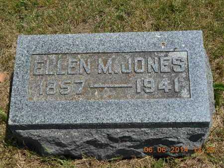 JONES, ELLEN M. - Branch County, Michigan | ELLEN M. JONES - Michigan Gravestone Photos