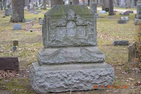 JONES, FAMILY - Branch County, Michigan   FAMILY JONES - Michigan Gravestone Photos