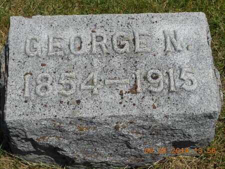 JONES, GEORGE N. - Branch County, Michigan | GEORGE N. JONES - Michigan Gravestone Photos