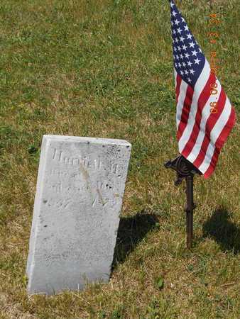 JONES, HARRIETT M. - Branch County, Michigan   HARRIETT M. JONES - Michigan Gravestone Photos