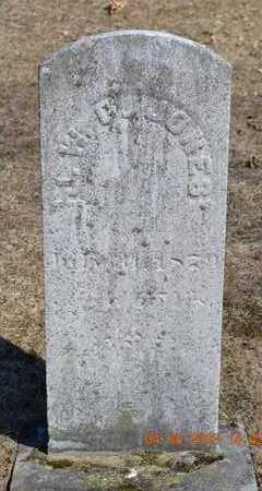 JONES, J.W. C. - Branch County, Michigan   J.W. C. JONES - Michigan Gravestone Photos