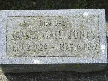 JONES, JAMES GAIL - Branch County, Michigan | JAMES GAIL JONES - Michigan Gravestone Photos