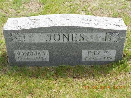 JONES, INEZ M. - Branch County, Michigan | INEZ M. JONES - Michigan Gravestone Photos