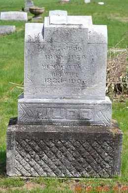JUDD, MARY E. - Branch County, Michigan | MARY E. JUDD - Michigan Gravestone Photos