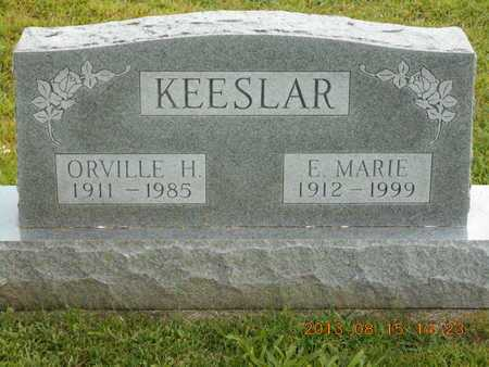 KEESLAR, E. MARIE - Branch County, Michigan | E. MARIE KEESLAR - Michigan Gravestone Photos