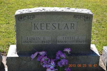 KEESLAR, EDWIN B. - Branch County, Michigan | EDWIN B. KEESLAR - Michigan Gravestone Photos