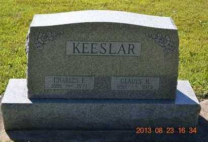 KEESLAR, GLADYS M. - Branch County, Michigan | GLADYS M. KEESLAR - Michigan Gravestone Photos