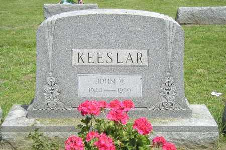 KEESLAR, JOHN W. - Branch County, Michigan | JOHN W. KEESLAR - Michigan Gravestone Photos