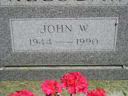 KEESLAR, JOHN W. - Branch County, Michigan | JOHN W. KEESLAR - Michigan Gravestone Photos