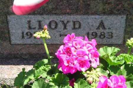 KEESLAR, LLOYD A. - Branch County, Michigan | LLOYD A. KEESLAR - Michigan Gravestone Photos