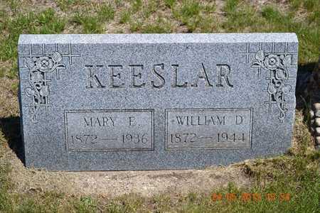 KEESLAR, WILLIAM D. - Branch County, Michigan | WILLIAM D. KEESLAR - Michigan Gravestone Photos