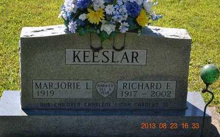 KEESLAR, MARJORIE L. - Branch County, Michigan | MARJORIE L. KEESLAR - Michigan Gravestone Photos