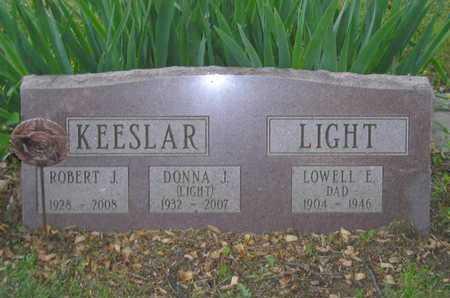 KEESLAR, ROBERT J. - Branch County, Michigan | ROBERT J. KEESLAR - Michigan Gravestone Photos
