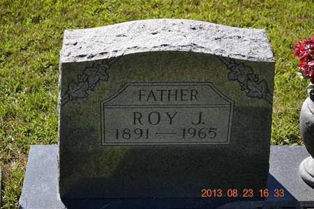 KEESLAR, ROY J. - Branch County, Michigan   ROY J. KEESLAR - Michigan Gravestone Photos
