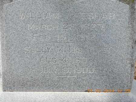KEESLAR, WILLIAM - Branch County, Michigan | WILLIAM KEESLAR - Michigan Gravestone Photos