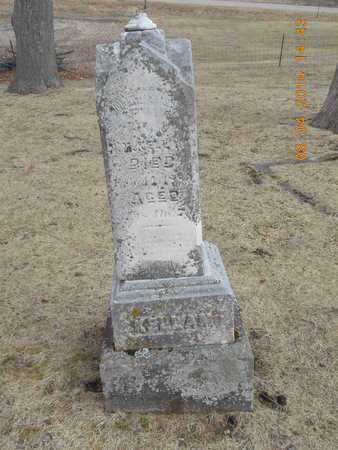 KELLAM, FAMILY - Branch County, Michigan | FAMILY KELLAM - Michigan Gravestone Photos