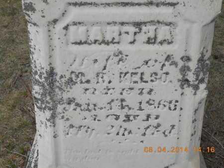 KELSO, MARTHA - Branch County, Michigan | MARTHA KELSO - Michigan Gravestone Photos