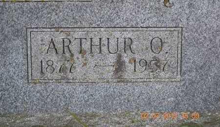 KIMBLE, ARTHUR O. - Branch County, Michigan | ARTHUR O. KIMBLE - Michigan Gravestone Photos