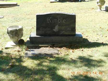 KIMBLE, CHARLES R. - Branch County, Michigan | CHARLES R. KIMBLE - Michigan Gravestone Photos