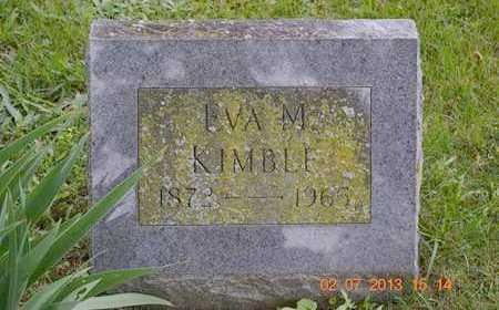 KIMBLE, EVA M. - Branch County, Michigan | EVA M. KIMBLE - Michigan Gravestone Photos