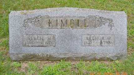 KIMBLE, ARTHUR O. - Branch County, Michigan | ARTHUR O. KIMBLE - Michigan Gravestone Photos