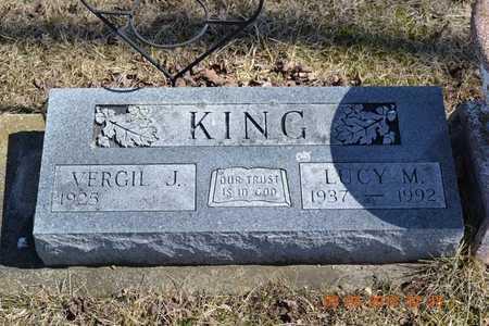 KING, LUCY M. - Branch County, Michigan | LUCY M. KING - Michigan Gravestone Photos