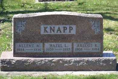 KNAPP, ARLOSS R. - Branch County, Michigan | ARLOSS R. KNAPP - Michigan Gravestone Photos