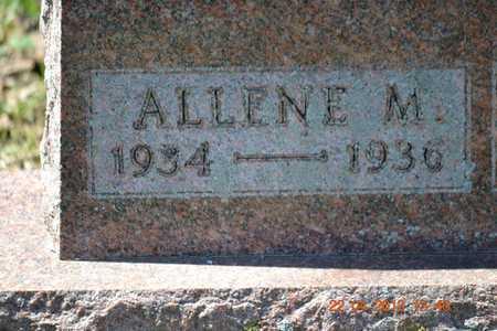 KNAPP, ALLENE M. - Branch County, Michigan | ALLENE M. KNAPP - Michigan Gravestone Photos