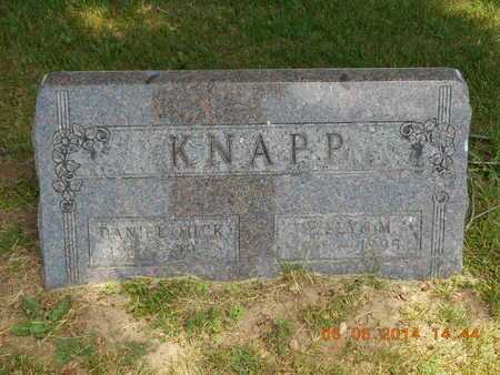 KNAPP, EVELYN M. - Branch County, Michigan | EVELYN M. KNAPP - Michigan Gravestone Photos