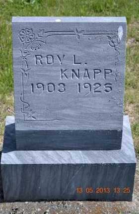 KNAPP, ROY L. - Branch County, Michigan | ROY L. KNAPP - Michigan Gravestone Photos