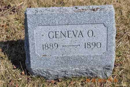 KNAUSS, GENEVA O. - Branch County, Michigan | GENEVA O. KNAUSS - Michigan Gravestone Photos