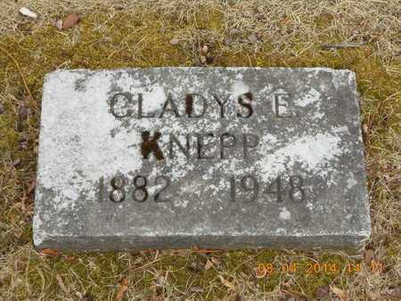 KNEPP, GLADYS E. - Branch County, Michigan | GLADYS E. KNEPP - Michigan Gravestone Photos
