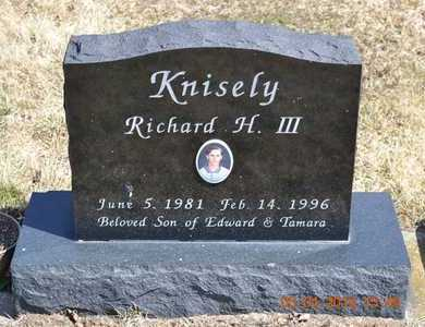 KNISELY, III, RICHARD H. - Branch County, Michigan | RICHARD H. KNISELY, III - Michigan Gravestone Photos