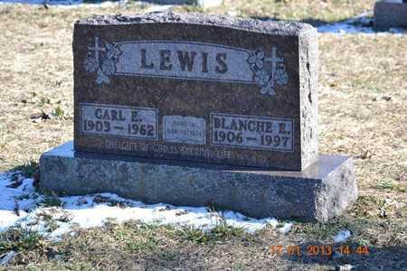 LEWIS, BLANCHE E. - Branch County, Michigan   BLANCHE E. LEWIS - Michigan Gravestone Photos