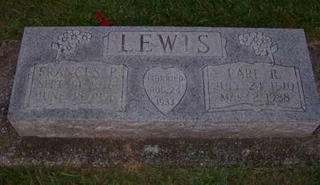 LEWIS, EARL - Branch County, Michigan | EARL LEWIS - Michigan Gravestone Photos