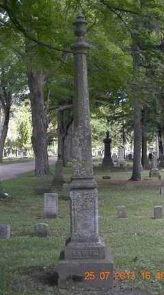 LEWIS, FAMILY - Branch County, Michigan | FAMILY LEWIS - Michigan Gravestone Photos