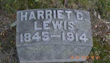 LEWIS, HARRIET C. - Branch County, Michigan   HARRIET C. LEWIS - Michigan Gravestone Photos