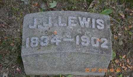 LEWIS, J.J. - Branch County, Michigan | J.J. LEWIS - Michigan Gravestone Photos