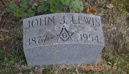 LEWIS, JOHN J. - Branch County, Michigan | JOHN J. LEWIS - Michigan Gravestone Photos