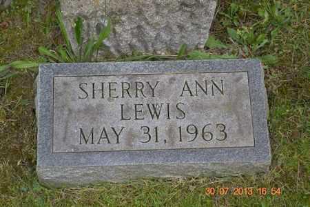 LEWIS, SHERRY ANN - Branch County, Michigan | SHERRY ANN LEWIS - Michigan Gravestone Photos