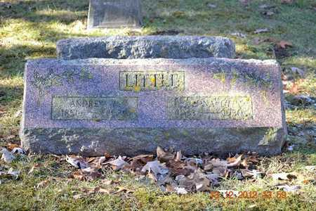 LITTLE, ANDREW W. - Branch County, Michigan | ANDREW W. LITTLE - Michigan Gravestone Photos