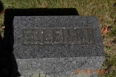 LITTLE, ELLEN M. - Branch County, Michigan | ELLEN M. LITTLE - Michigan Gravestone Photos