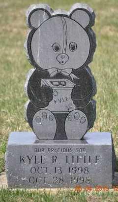 LITTLE, KYLE R. - Branch County, Michigan   KYLE R. LITTLE - Michigan Gravestone Photos