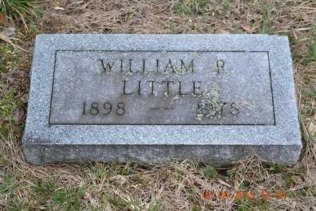 LITTLE, WILLIAM R. - Branch County, Michigan | WILLIAM R. LITTLE - Michigan Gravestone Photos