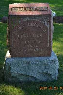 LOBDELL, FLINT - Branch County, Michigan | FLINT LOBDELL - Michigan Gravestone Photos