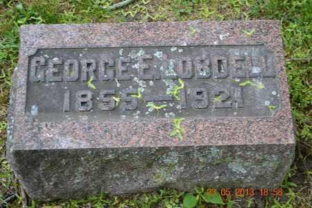 LOBDELL, GEORGE E. - Branch County, Michigan | GEORGE E. LOBDELL - Michigan Gravestone Photos