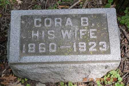 LOSSING, CORA B. - Branch County, Michigan | CORA B. LOSSING - Michigan Gravestone Photos