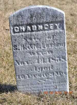 LOSSING, CHAUNCEY - Branch County, Michigan | CHAUNCEY LOSSING - Michigan Gravestone Photos