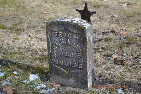 LOSSING, SAMUEL H. - Branch County, Michigan | SAMUEL H. LOSSING - Michigan Gravestone Photos