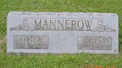 MANNEROW, CARL M. - Branch County, Michigan | CARL M. MANNEROW - Michigan Gravestone Photos